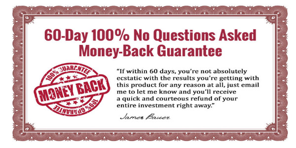 60 day Moneyback Guarantee