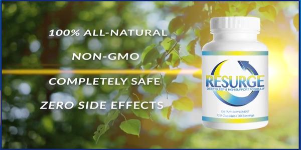 resurge 100 percent natural