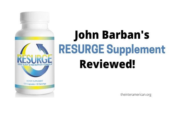 review for john barban's resurge