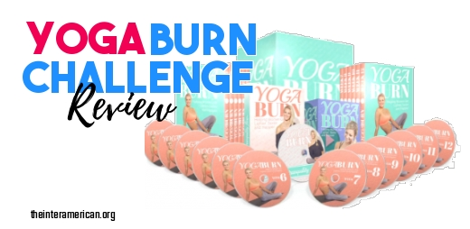 yoga burn review challenge banner
