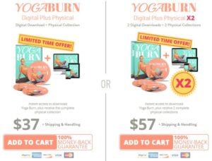 yogaburn price