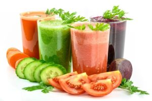 Antioxidants from vegetable juices