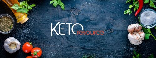 Keto Resource banner photo from their Facebook page
